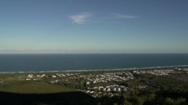 Mount Coolum in Queensland — Stock Video