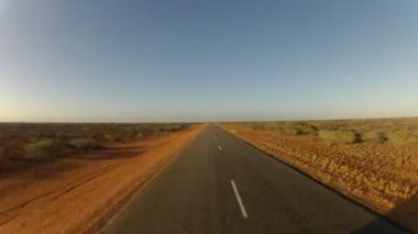 Driving through Western Australia — Stock Video