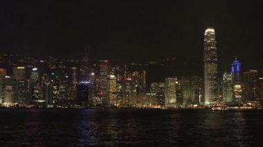 Hong Kong skyline city — 图库视频影像