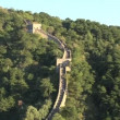 Tourists at the Great Wall of China — Stock Video #45844341
