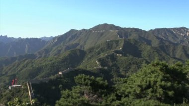 Grande muraglia cinese — Video Stock