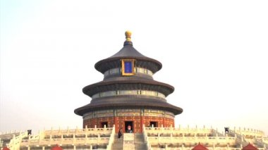 Tilt from the Temple of Heaven — Stock Video