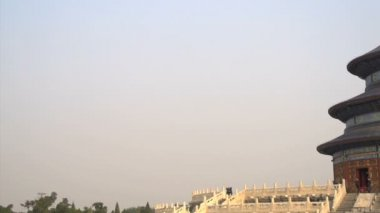 Pan to the Temple of Heaven — Video Stock