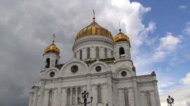храм христа спасителя — Стоковое видео