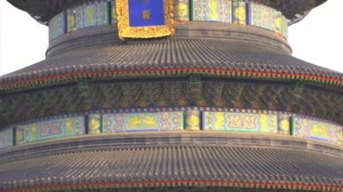 Close up Temple of Heaven — Stock Video