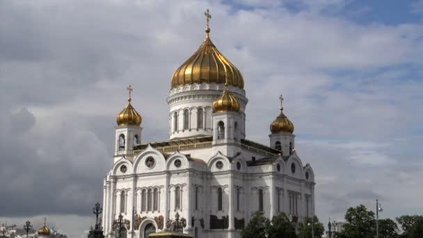 Catedral de Cristo Salvador — Vídeo de stock