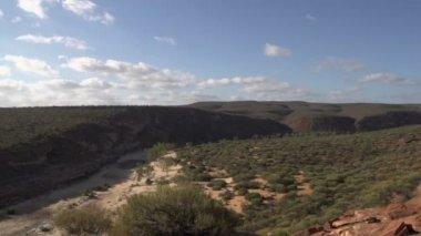 Kalbarri cliff — Stock Video