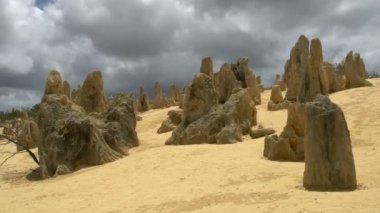 The Pinnacles, Nambung National Park — Stock Video