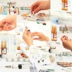 Lot of medicines — Stock Photo