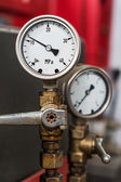 2 pressure gauges. — Stock Photo