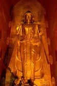 Standing Buddha (Gotama) in the Ananda temple. — Stock Photo