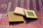 Počítačové procesory — Stock fotografie