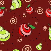 Fruit Pattern — Vector de stock