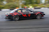Drift racing car — Stock Photo