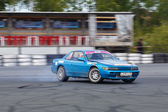 Drift racing car — Stock Photo