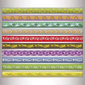 Ribbon motif Tatars — Stock vektor