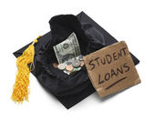 Student Loan Debt — Stock Photo