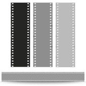 Set of films pattern — Stock Vector