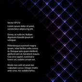 Abstract neon light black backround vector illustration — Stock Vector