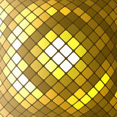 Abstract golden mosaic vector background — Stock Vector