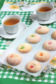 Candied Fruit Cookies — Stockfoto
