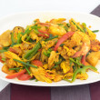 Постер, плакат: Seafood with Yellow curry sauce