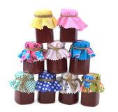 Funny jars — Stock Photo