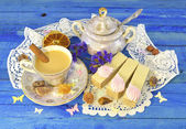 Çay saati — Stok fotoğraf