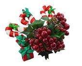 Año nuevo y navidad bodegón — Foto de Stock