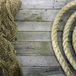 Net and rope — Stock Photo #46187243