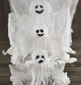 Three decorative ghost — Stock Photo