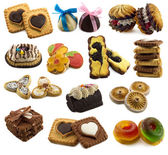 Collection of sweet tasty things — Stock Photo