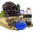Still life with poisons — Stock Photo