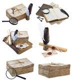 установить с древних письменных орудий — Стоковое фото