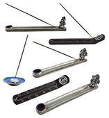 Set with joss stick holders — Foto de Stock