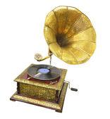 Old gramophone — Stock Photo