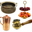 Traditional Indian dishware — Stock Photo #51628477