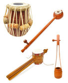 Indian musical instruments — Stock Photo