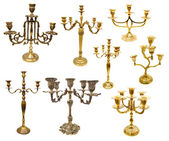 Candle holders — Stock Photo