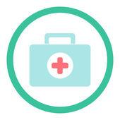 Lékařský kufr — Stock vektor