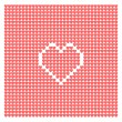 Abstract background from hearts — Stock Vector #48947667