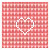 Abstrato de corações — Vetor de Stock