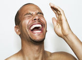 Laughing Man — Stock Photo