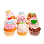 Delicious cupcakes. — Stock Photo