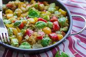 Buharda pişmiş sebzeler — Stok fotoğraf
