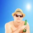 Guy with hat and sunglasses — Stock Photo #45854207