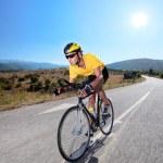Cyclist riding bike — Stock Photo #45856819