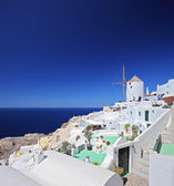 Village on Santorini island — Stock Photo