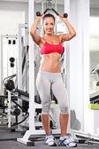 žena cvičit — Stock fotografie