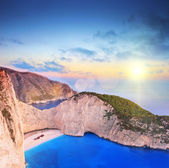 Panorama of Zakynthos island — Stock Photo